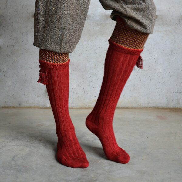 Suffolk Shooting socks – Red