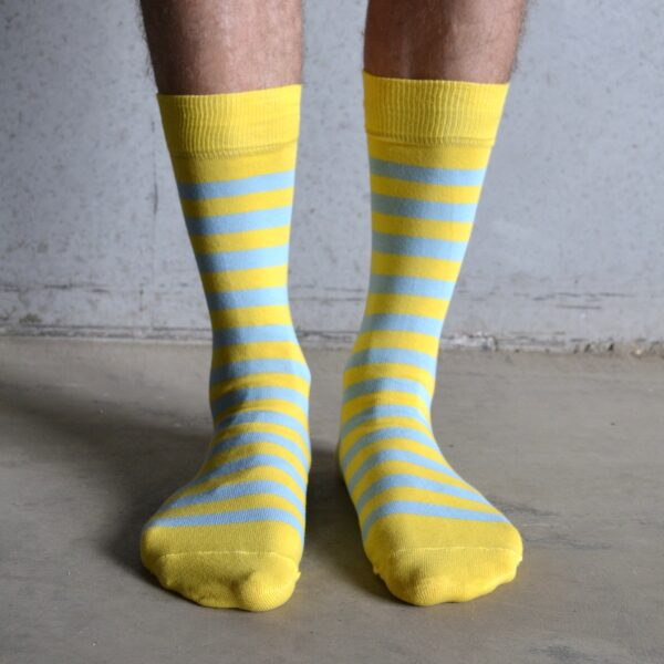 Stripes! Yellow & Blue