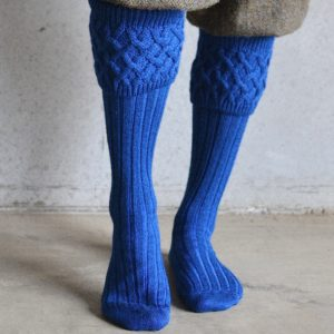 Oxford Shooting socks – Blue