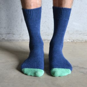 Alpaca – Navy & Green