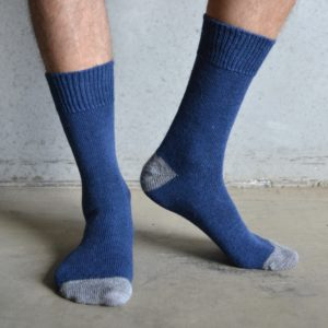 Alpaca – Navy & Grey
