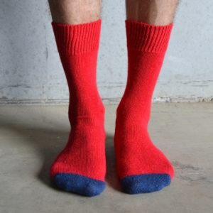 Alpaca – Red & Navy