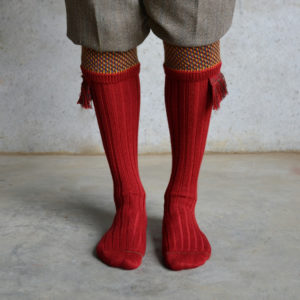 Suffolk Shooting socks – Red