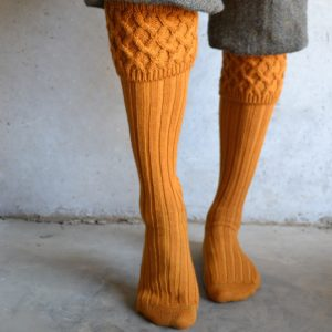 Oxford Shooting Socks – Mustard