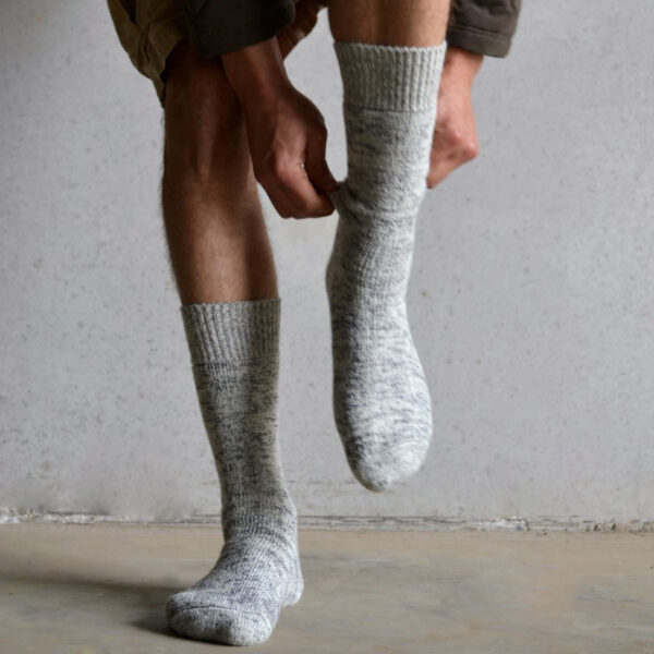 Thick Wool Grey Fleck