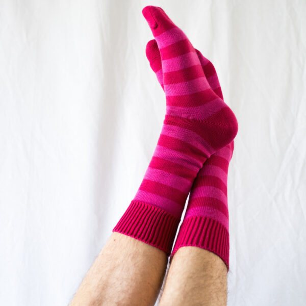 Cotton Stripes – Pink