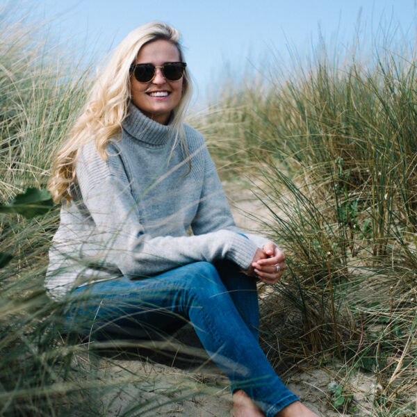 The Lambswool Roll neck – Light