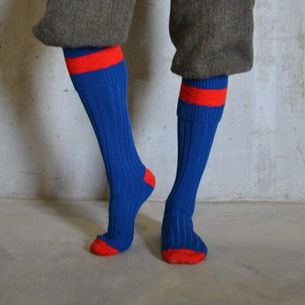 Eaton Shooting socks – Blue