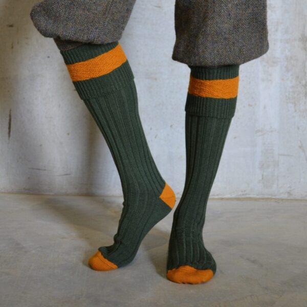Eaton Shooting socks – Green