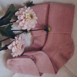 Cashmere socks – Dusky Pink
