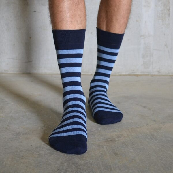 Stripes! Navy & Blue