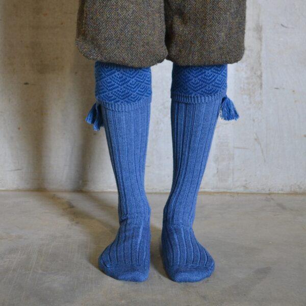 Belvoir Shooting socks – Blue