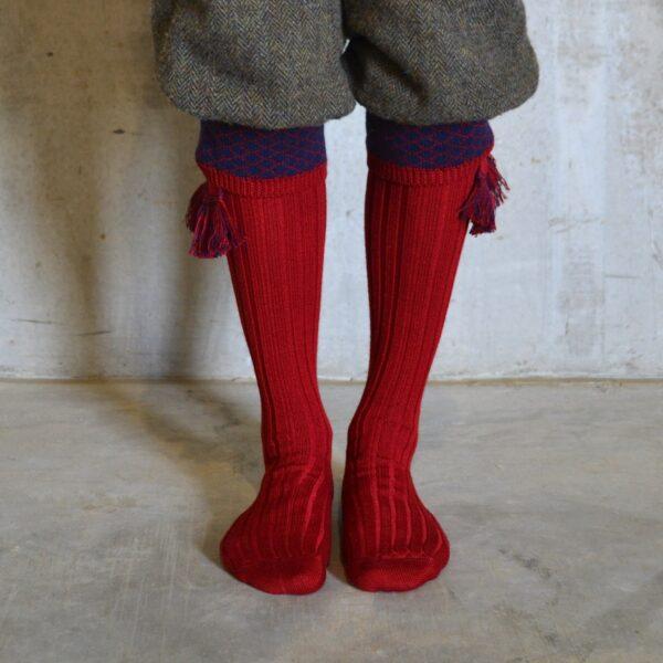 Oakham Shooting socks – Red