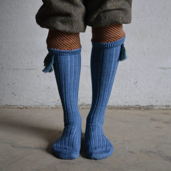 Suffolk Shooting socks – Mid Blue