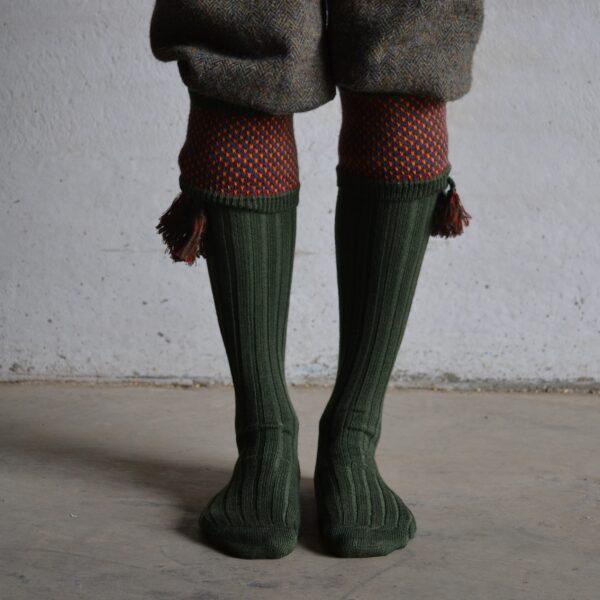 Suffolk Shooting socks – Green