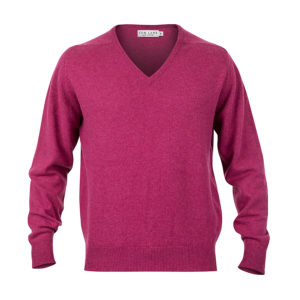 Zennor Vee Neck – Bilberry