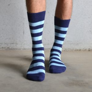 Cotton Stripes – Blue & Navy