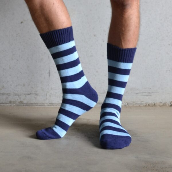 Cotton Stripes – Blue & Navy