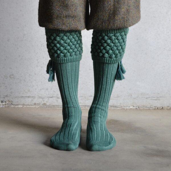Balmoral Shooting socks – Green