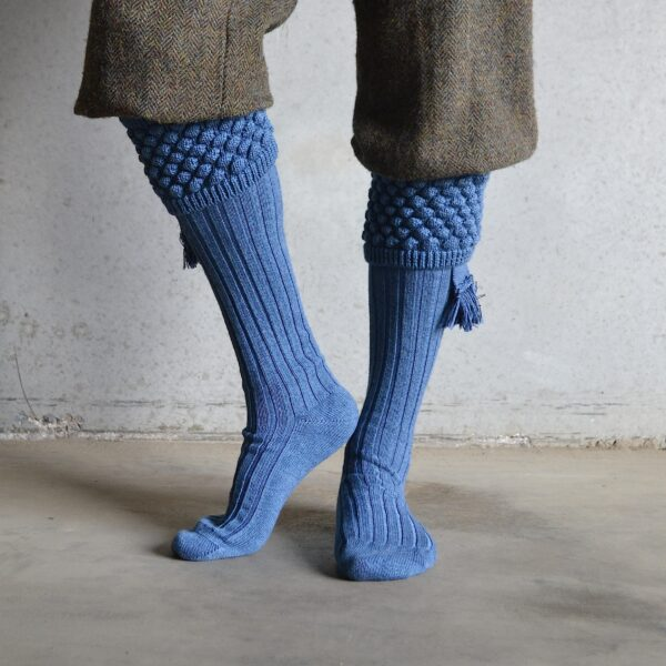 Balmoral Shooting socks – Blue