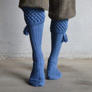 Balmoral Shooting socks – Blue