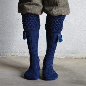 Balmoral Shooting socks – Navy