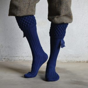 Balmoral Shooting socks – Navy