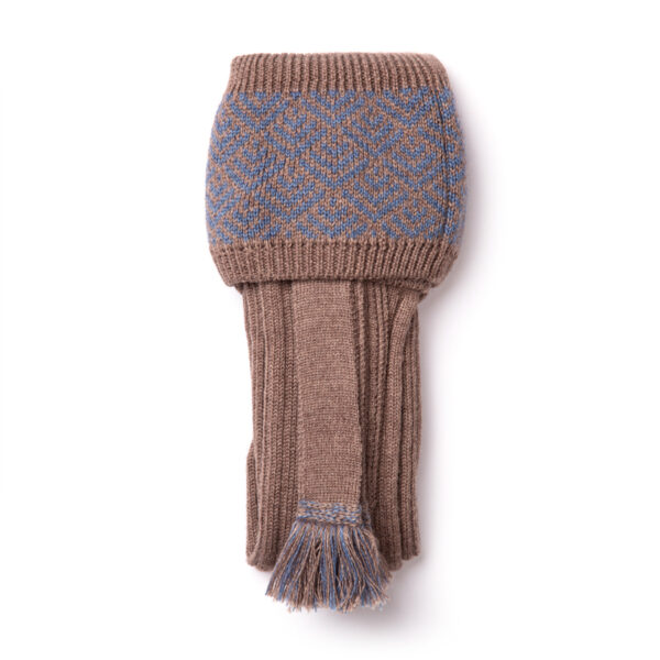 Belvoir shooting socks – Fawn & Blue
