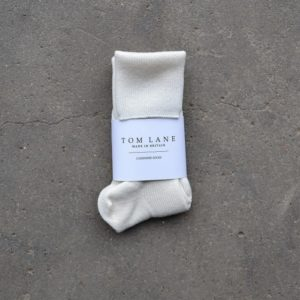 Cashmere socks – Cream
