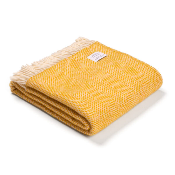 Yellow Throw