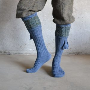 Fiddich Shooting socks – Blue Lovat