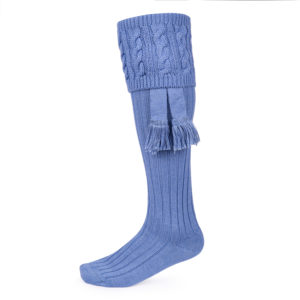 Fiddich Shooting socks – Bluebell