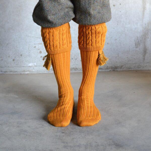 Fiddich Shooting socks – Ochre