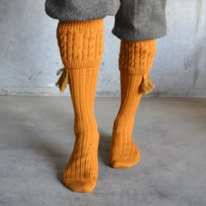 Fiddich Shooting socks – Ochre