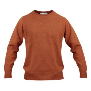 Zennor crew neck – Orange