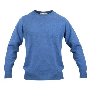 Zennor Crew neck – Blue