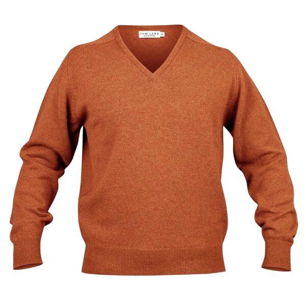 Zennor Vee neck – Orange