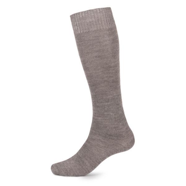 Long Alpaca socks – Grey
