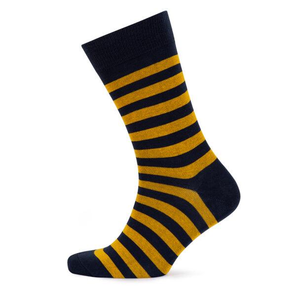 Stripes! Yellow & Navy