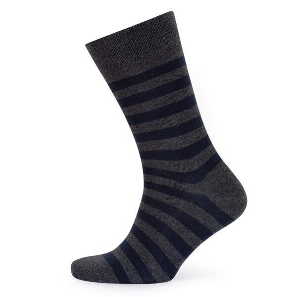 Stripes! Navy & Grey