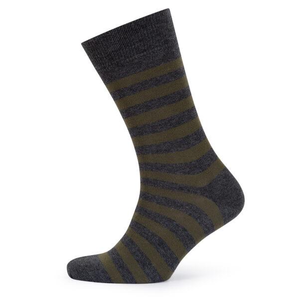 Stripes! Olive & Grey