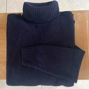 The Lambswool Roll Neck – Sale