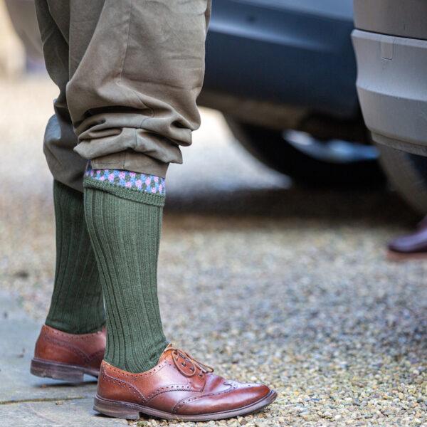 Leven Shooting socks