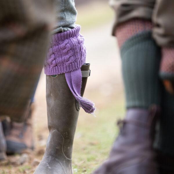 Fiddich shooting socks – Lilac
