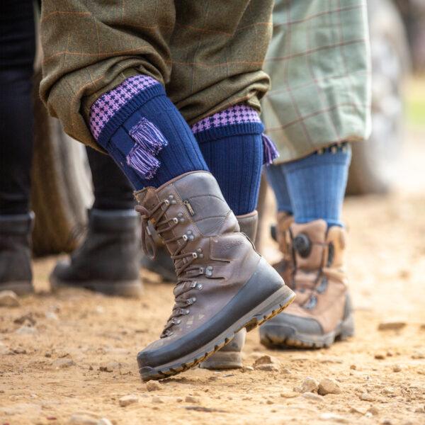 Lomond Shooting socks – Navy