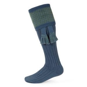 Lomond shooting socks – Blue