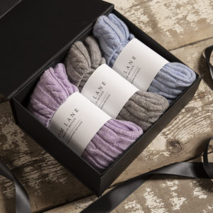 Cashmere socks Gift box