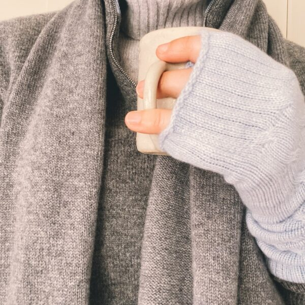 Long Cashmere hand warmers