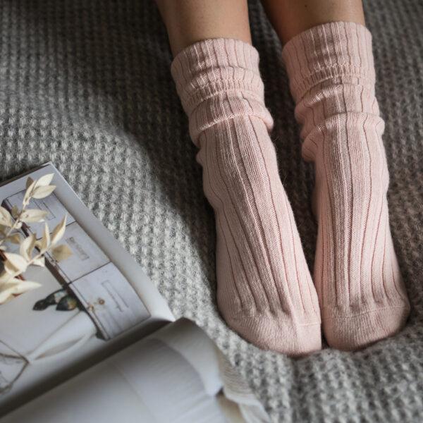 Alpaca Bed Socks Gift Box