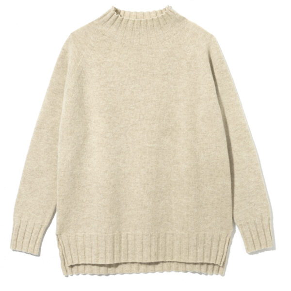 Stamford Funnel Neck, Oatmeal